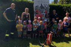 Brandschutzerziehung: Der Thomas-Kindergarten war zu Besuch