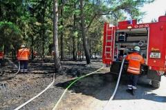 Großalarm bei Grußendorf für 80 Feuerwehrleute