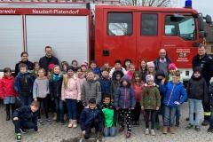 Findorff-Grundschule zu Besuch im Feuerwehrhaus