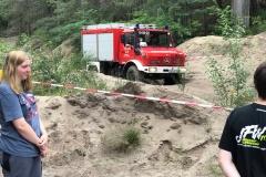 Fahrsicherheits-Training: Feuerwehr Neudorf-Platendorf besucht den Offroadpark Wesendorf